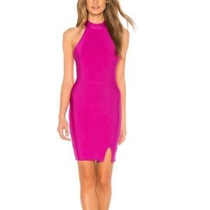 NBD X Naven Donna Dress In Pink